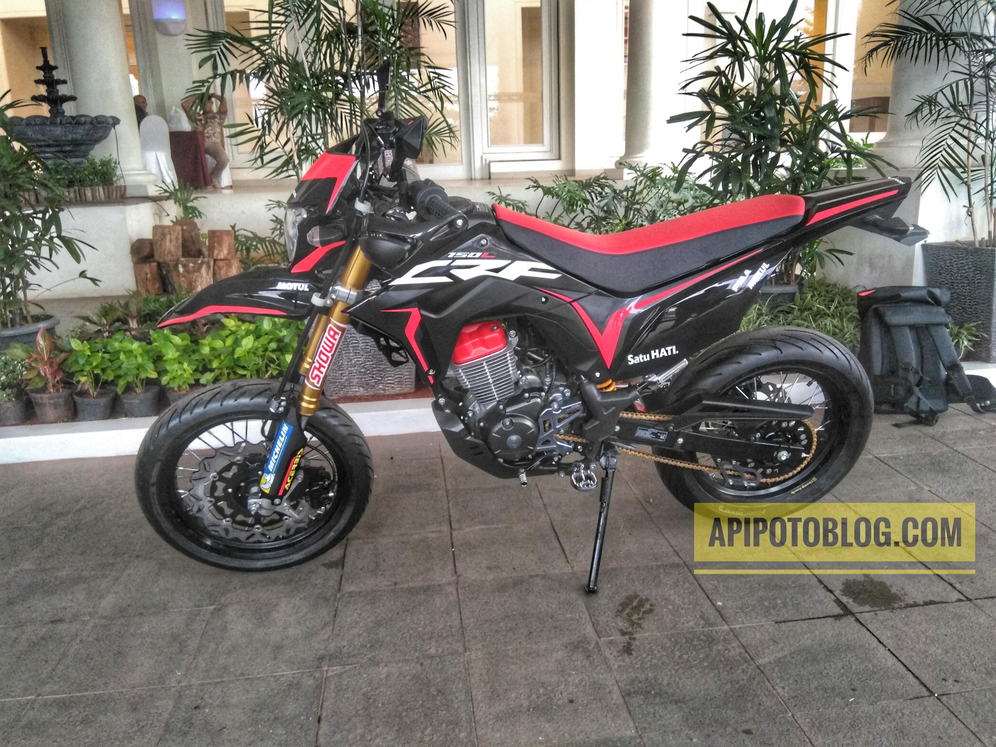 Download Ide 72 Modifikasi Motor Honda Crf 150 Terbaru Dan
