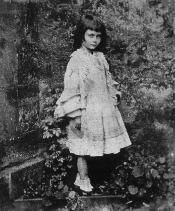 This photo was also taken of Alice in that same location at Ravensworth.