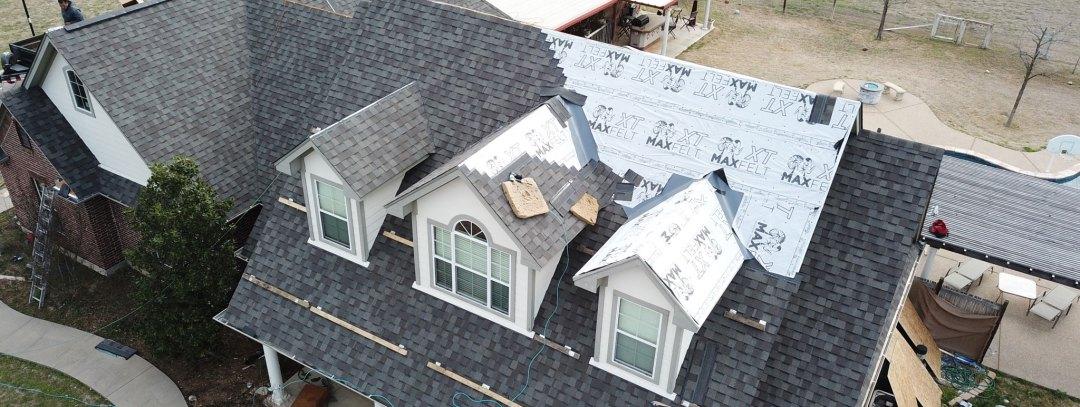 custom shingle roof