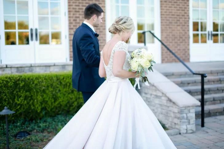 Cap Sleeve Allure Bridal Ball Gown