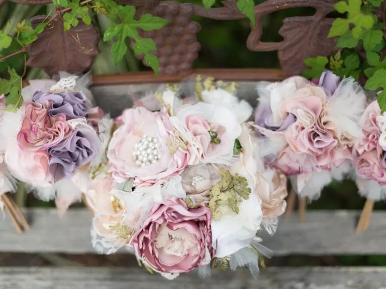 Silk Wedding Flowers Vs. Fresh