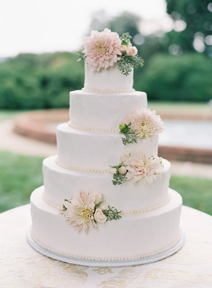 Carrot Wedding Cake with Cream Cheese Frosting
