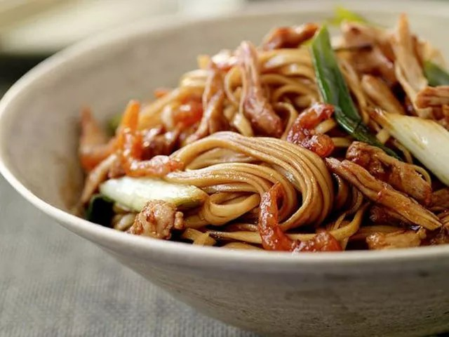 Recipe Of The Day Cantonese Pork Lo Mein Weekly Menu Food Amp Recipes