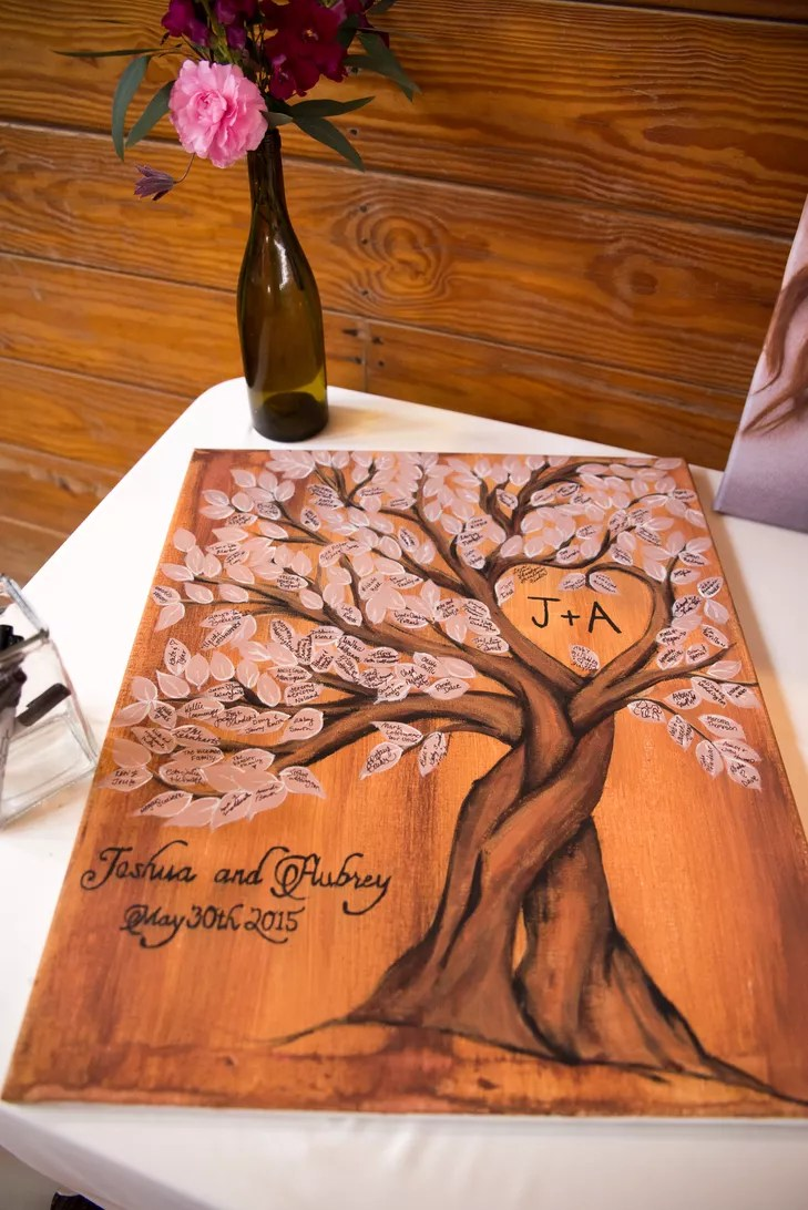 Rustic Wedding Invitations Tree