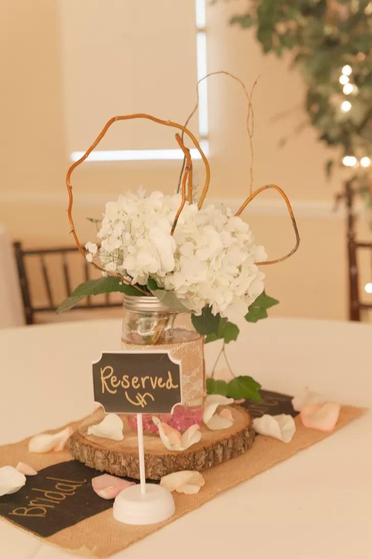 Rustic Country Mason Jar Wedding Invitations
