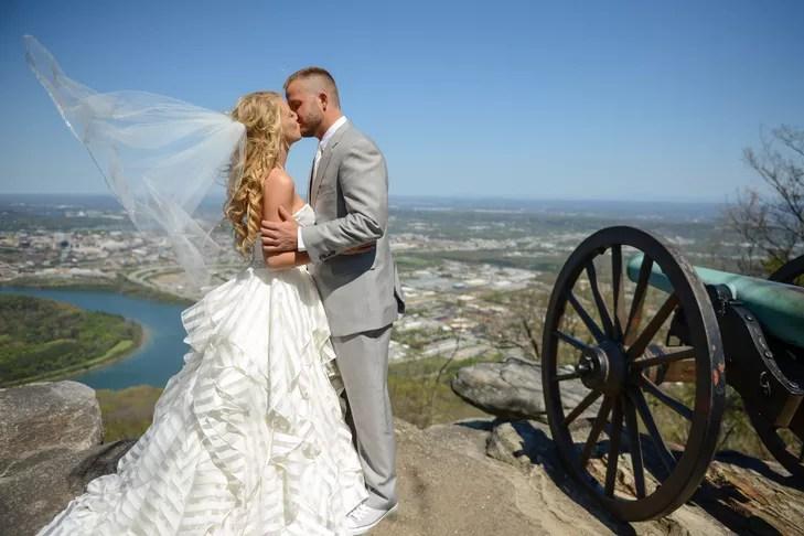 Striped Wedding Dress By Hayley Paige