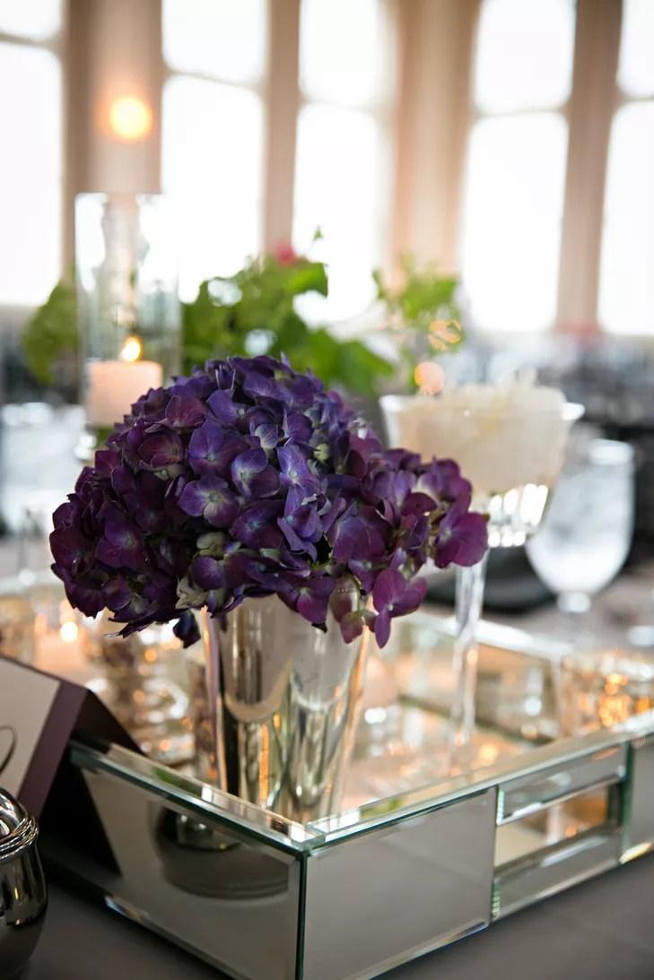 Purple And Silver Decor
