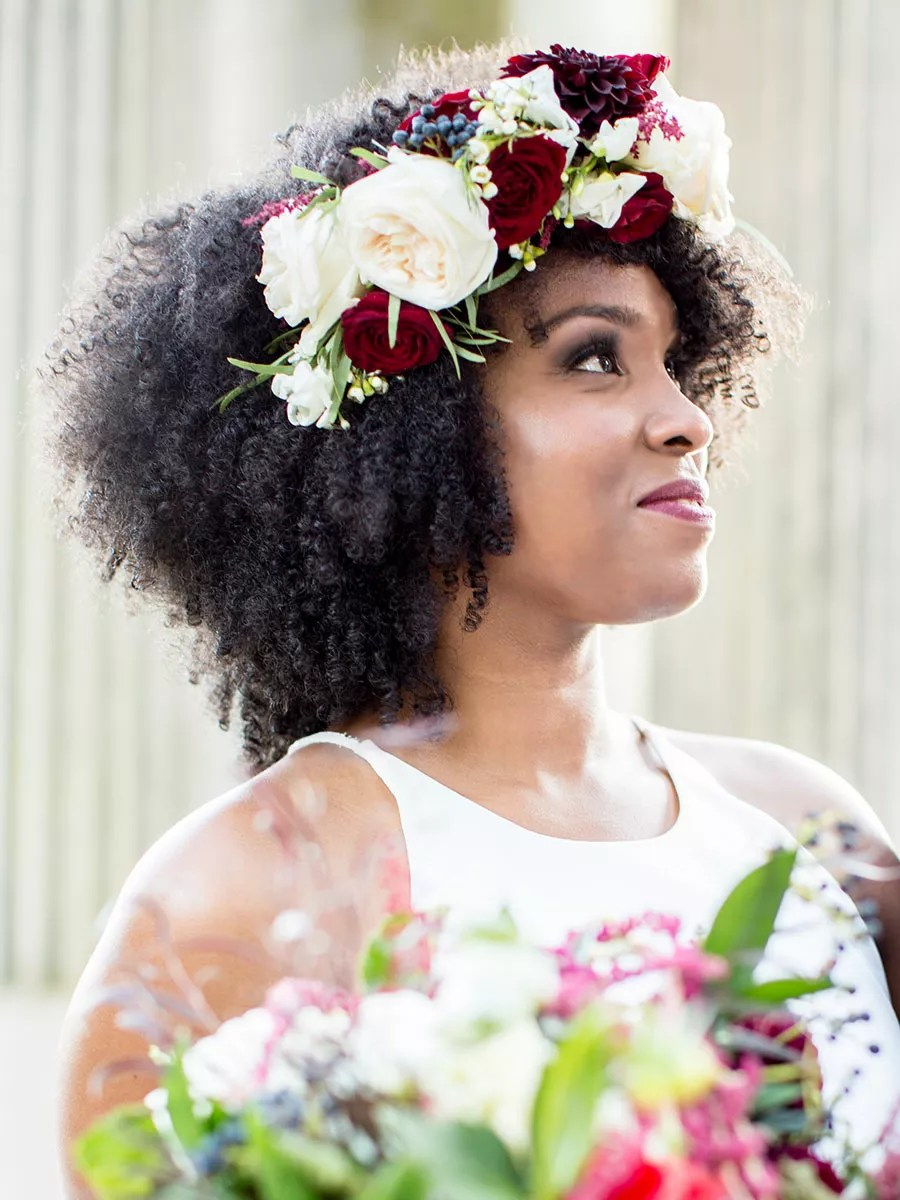 Natural Wedding Hairstyles For Brides