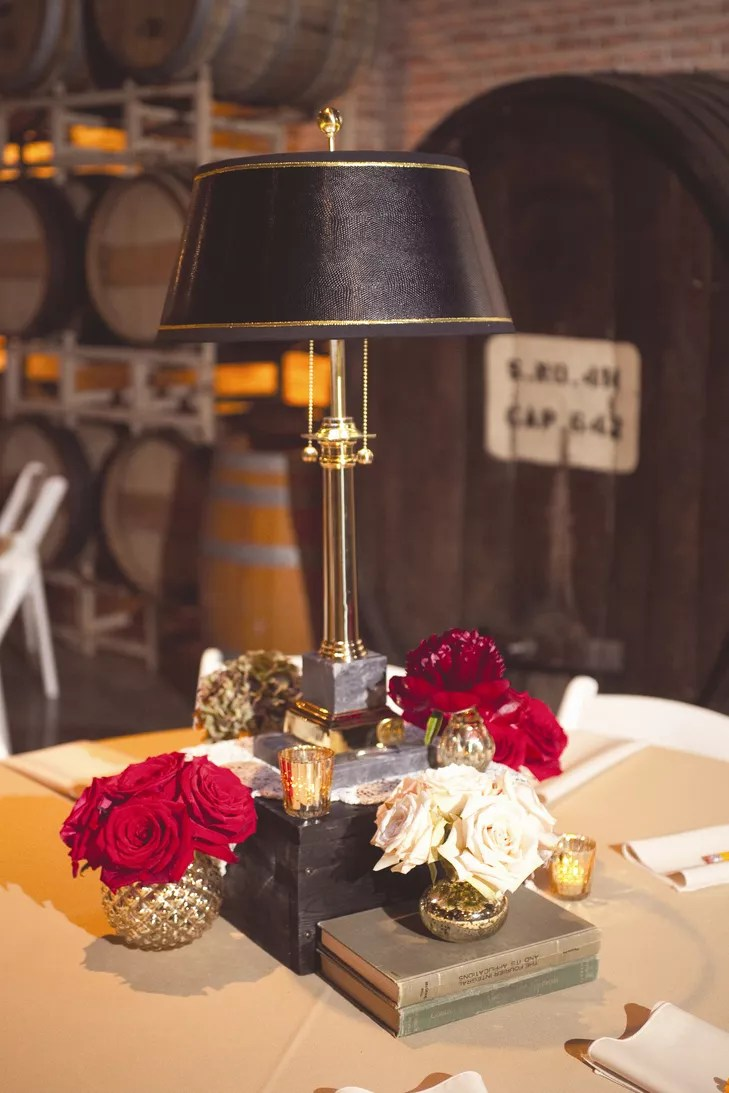 Library Themed Centerpieces