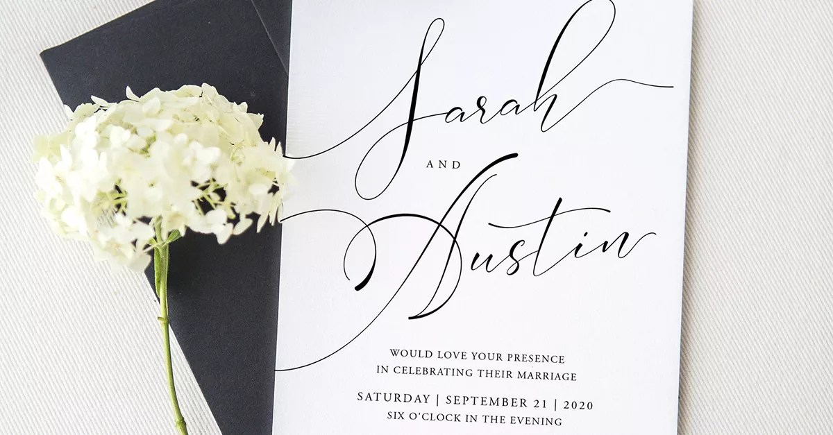 21 wedding invitation templates you can