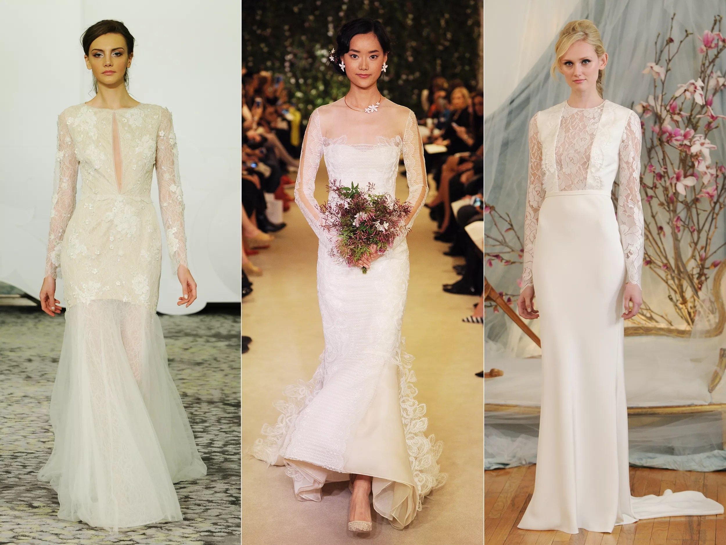 15 Beautiful Long-Sleeved Wedding Dresses