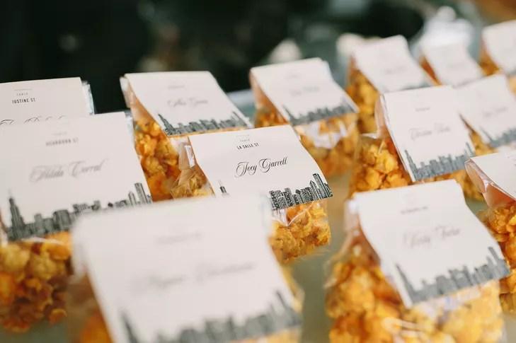 Garrett's Popcorn Wedding Favors