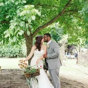 Four Tier Ruffle Wedding Cake