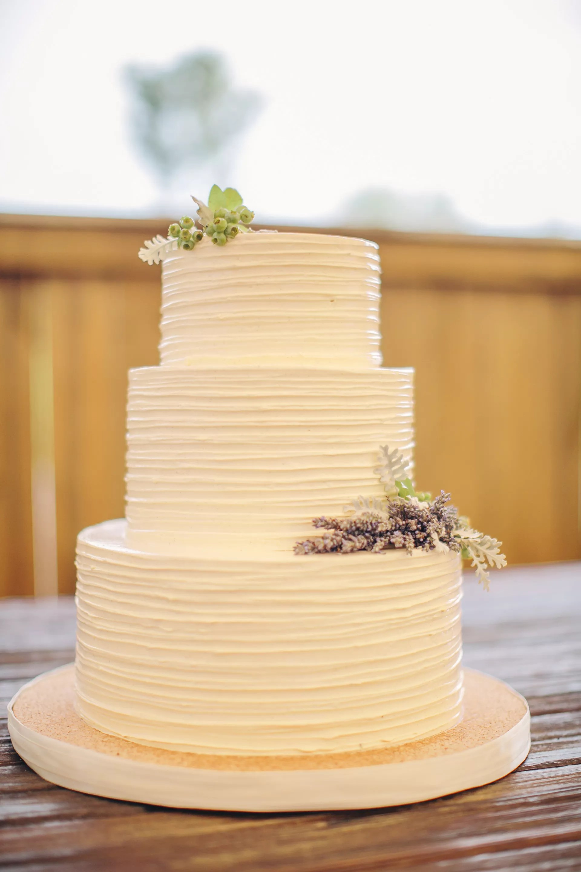 You might be left wondering where to put all of your belongings or how to make the space livable. Simple Buttercream Tiered Wedding Cake