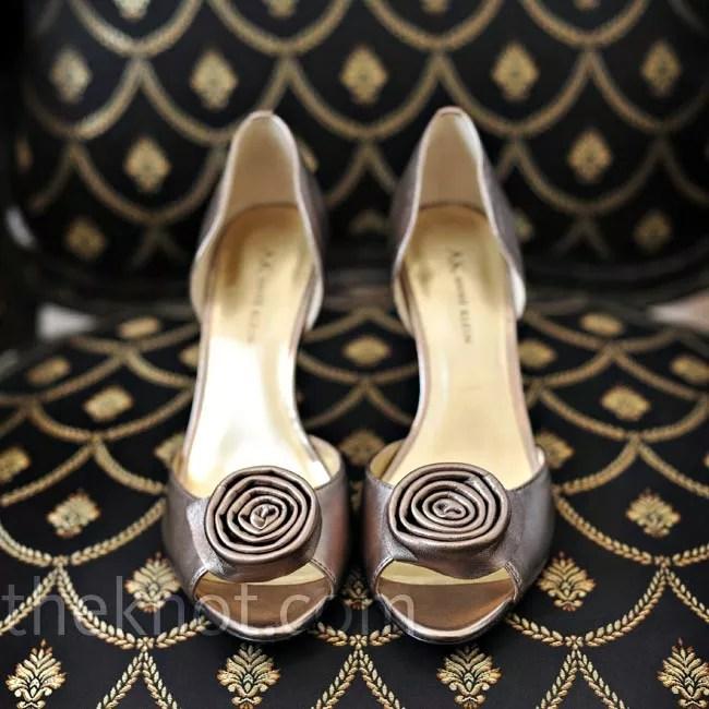 Pewter Shoes Wedding