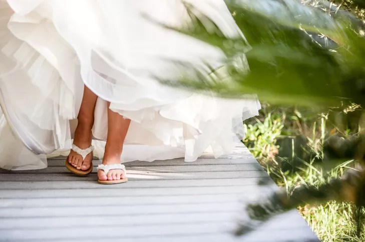 An Intimate Beach Wedding At A Private Residence On St