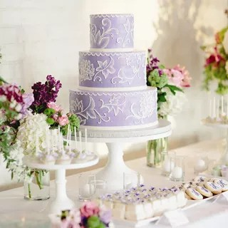Wedding Cakes   Wedding Cake Pictures Purple Wedding Cakes Purple Wedding Cakes