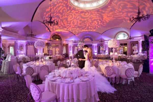 Luxurious Wedding Reception at Pleasantdale Chateau