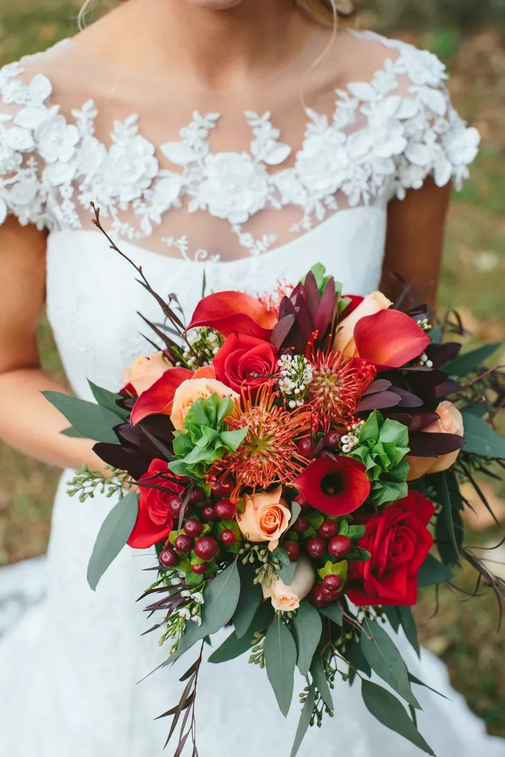 Fall Wedding Napkins