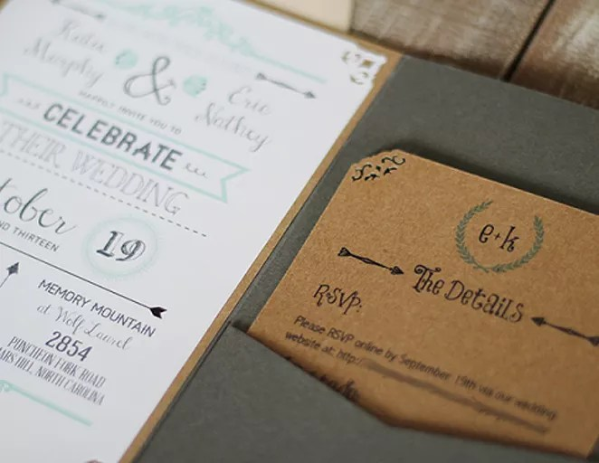 Make Your Own Rustic Wedding Invitations Free