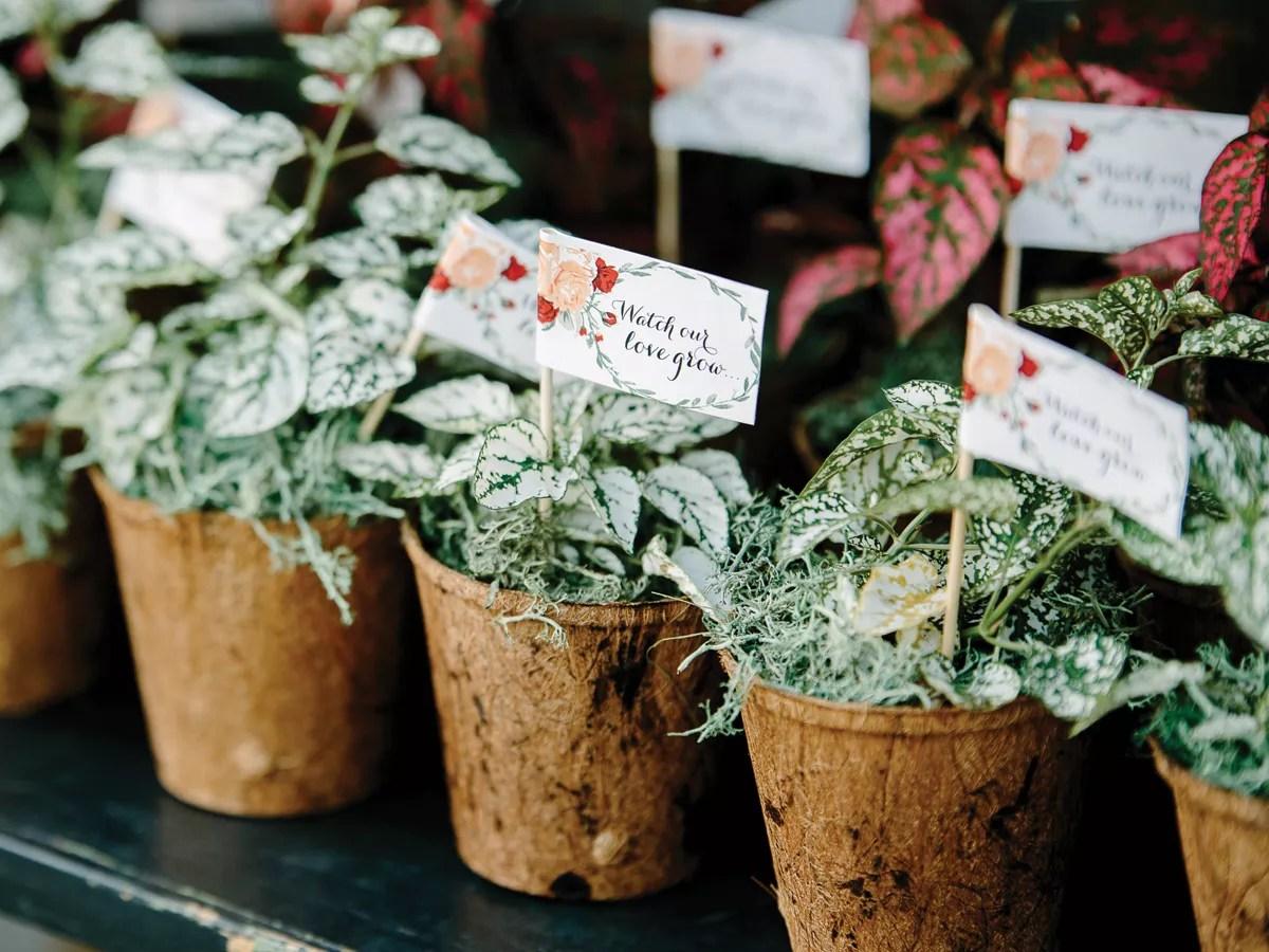 Wedding Favors: Pretty Floral Wedding Favor Ideas
