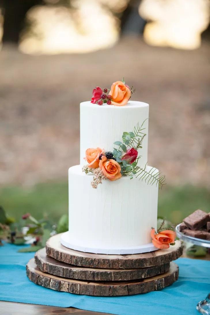 Rustic Flower Wedding Invitations