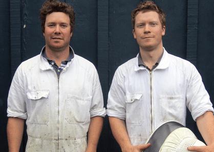 Tim et William Stewart : apiculteurs près de Hamilton en Nouvelle-Zélande.