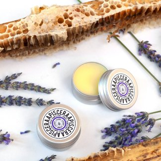 Organic honey and lavender lip balm