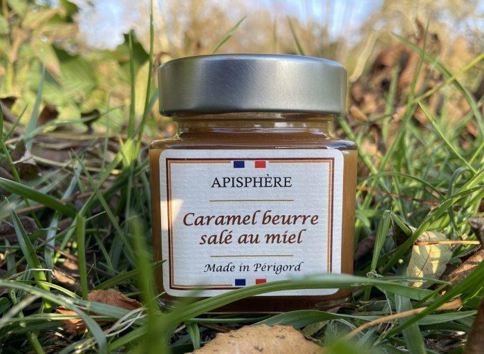 Caramel beurre salé au miel du Périgord