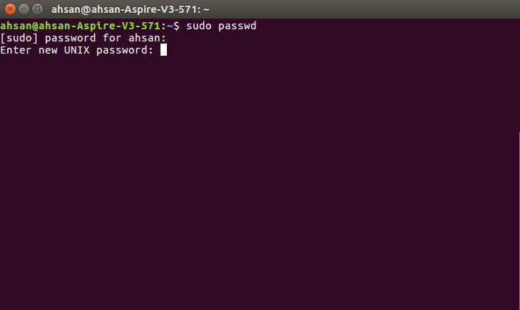 Root Password on Linux