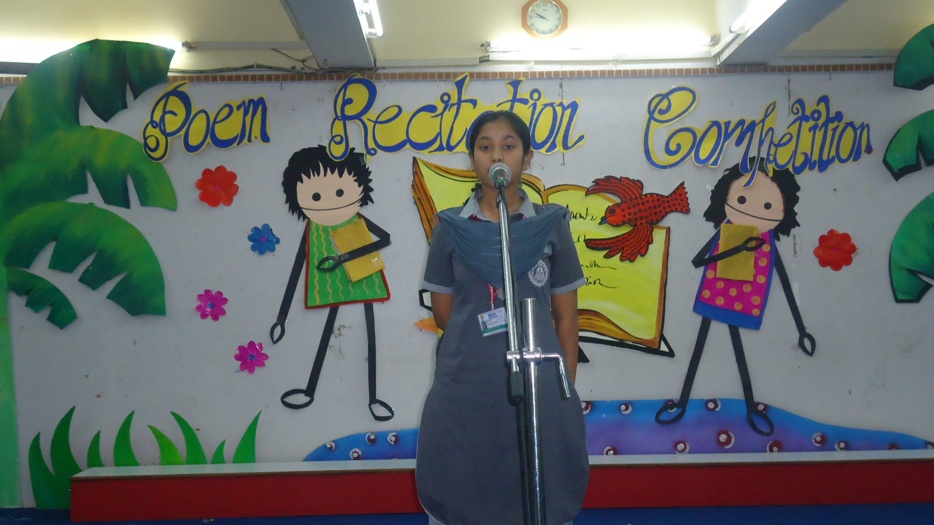 Inter Class English Poem Recitation Competition