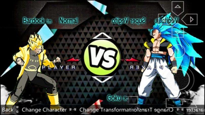 Dragon Ball Z Game Shin Budokai 2 Mod Download PSP ISO