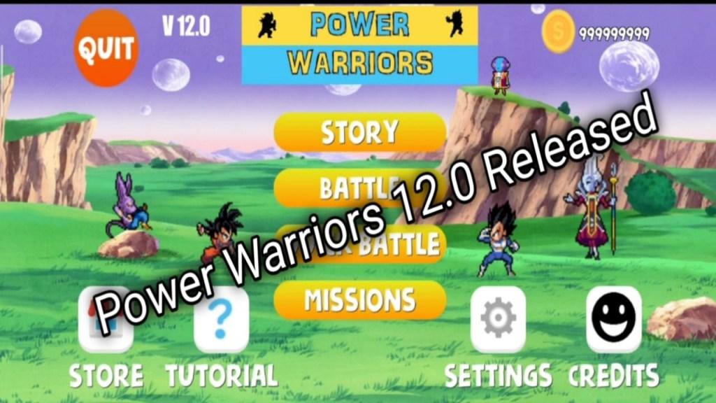 Power Warriors 12.0 Mod Apk Download