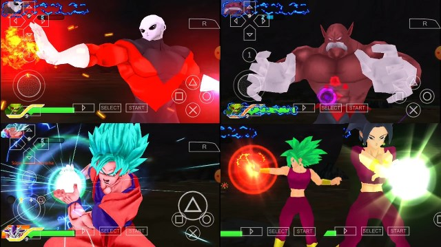 DBS Tournament Of Power Goku, Jiren, Toppo And Kefla