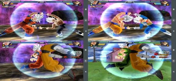 Goku and Vegeta all Fusions in DBZ Budokai Tenkaichi 3 MOD