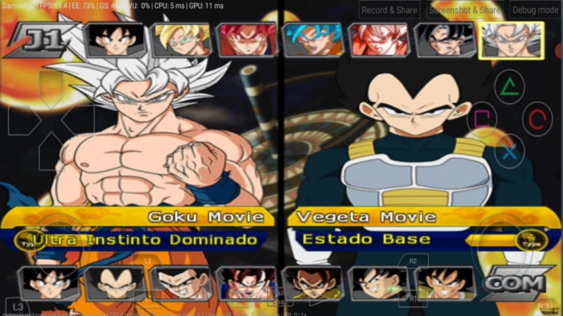 Dragon Ball Super Movie Broly DBZ BT3 MOD PS2 ISO Download