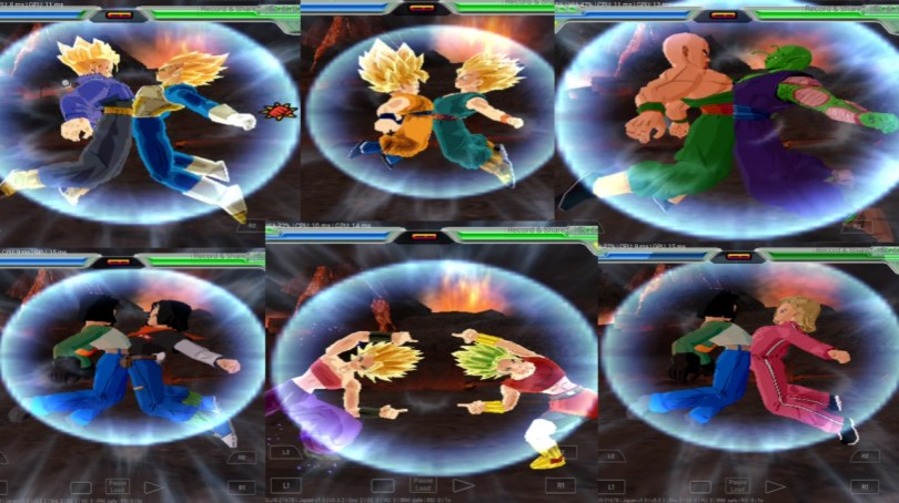 All fusions Dragon Ball Z Budokai Tenkaichi 3 MOD PS2 ISO
