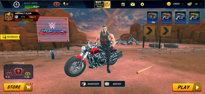 WWE Racing Showdown Game Android and iOS