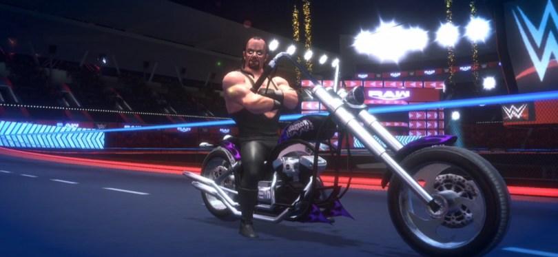 WWE Racing Showdown Undertaker Gameplay