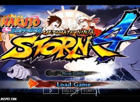 Naruto Ultimate Ninja Storm 4 PPSSPP ISO Download