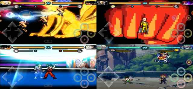 Anime Mugen gameplay on Android
