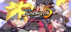 Naruto Ultimate Ninja Storm 5 PSP ISO