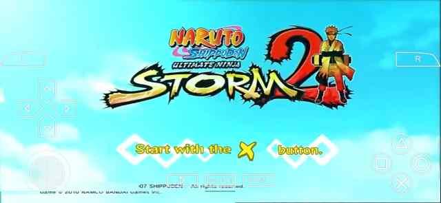 Naruto Ultimate Ninja Storm 2 PSP ISO Download