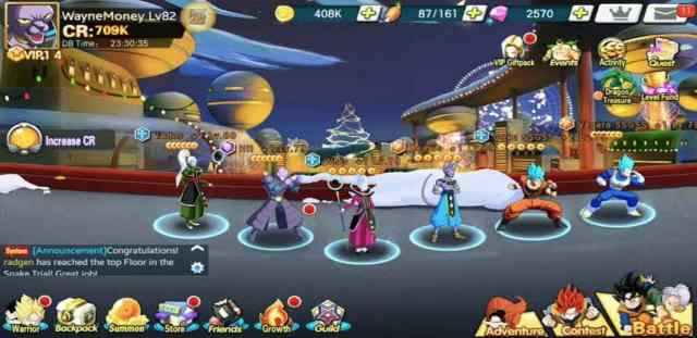 Dragon Ball Fury Fighter Apk Download for Android