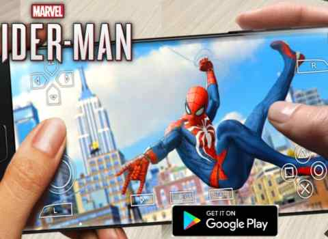 Marvel Spider-Man PS4 Game PPSSPP ISO Download