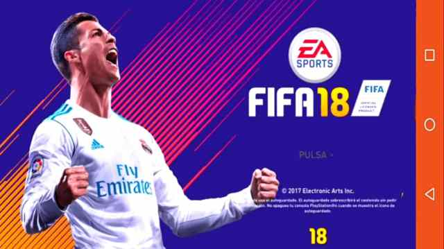 FIFA 18 Apk and OBB For Android free download