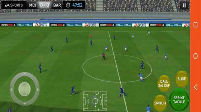 FIFA 18 Mobile Gameplay
