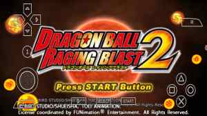 Dragon Ball Z Raging Blast 2 for PSP