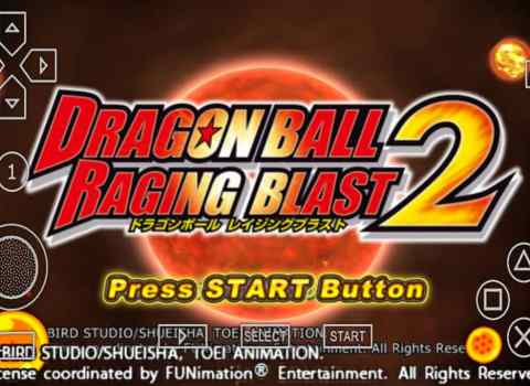 Dragon Ball Z Raging Blast 2 for PSP