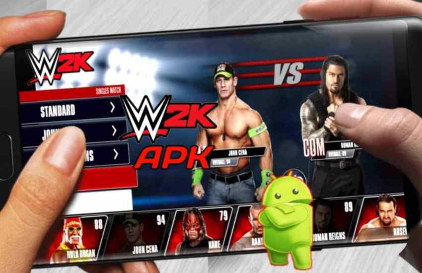 WWE 2K Apk Download